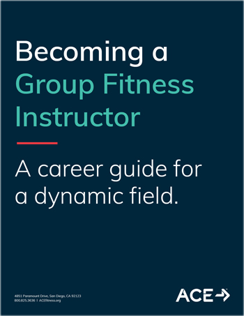 Becoming A Group Fitness Instructor - A Career Guide for a dynamic field