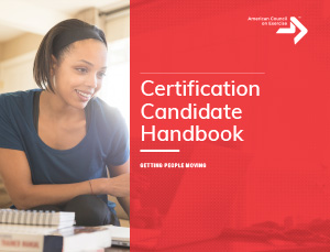 ACE Certification Candidate Handbook