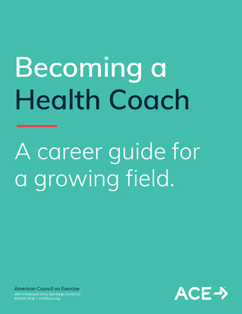Becoming a Health Coach